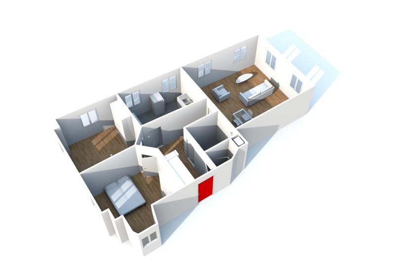 Appartement F3 à louer dans le centre-ville de Grand-Couronne - Image 9