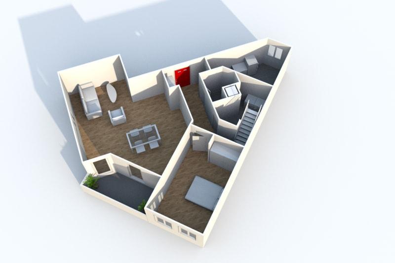 Appartement Duplex T4 à louer à Montivilliers proche de la gare - Image 8