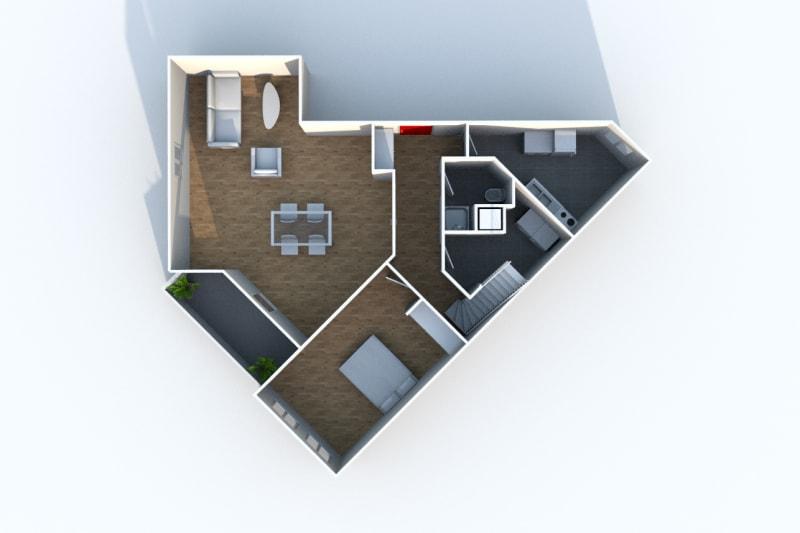 Appartement Duplex T4 à louer à Montivilliers proche de la gare - Image 9