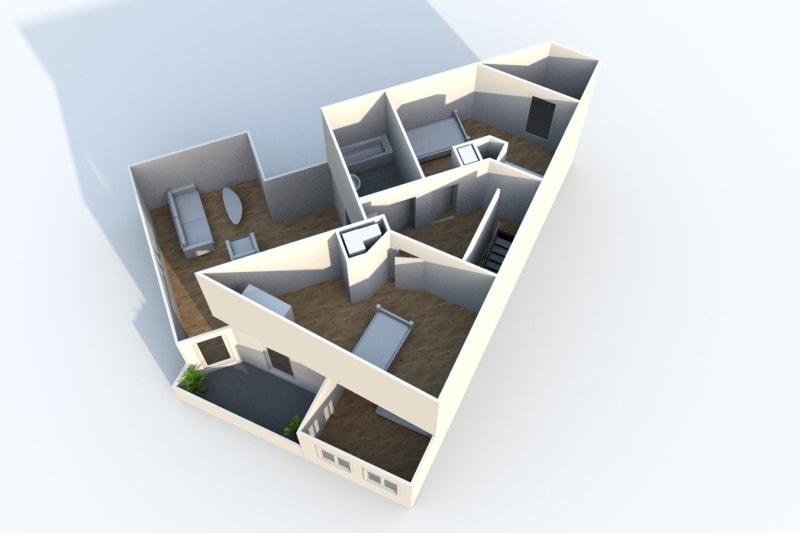 Appartement Duplex T4 à louer à Montivilliers proche de la gare - Image 10