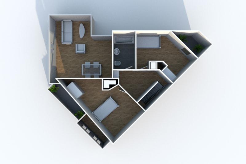 Appartement Duplex T4 à louer à Montivilliers proche de la gare - Image 11