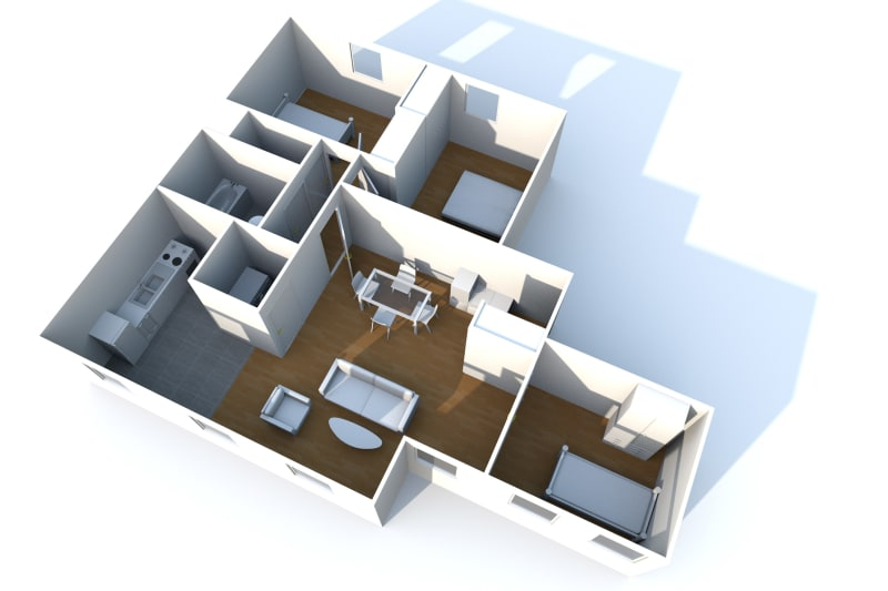 Appartement T4 en location au Tréport - Image 8