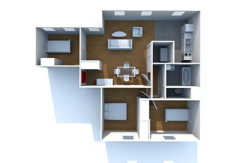 Appartement T4 en location au Tréport - Image 9