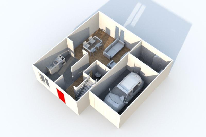 Pavillon T4 en location à Ymare - Image 3