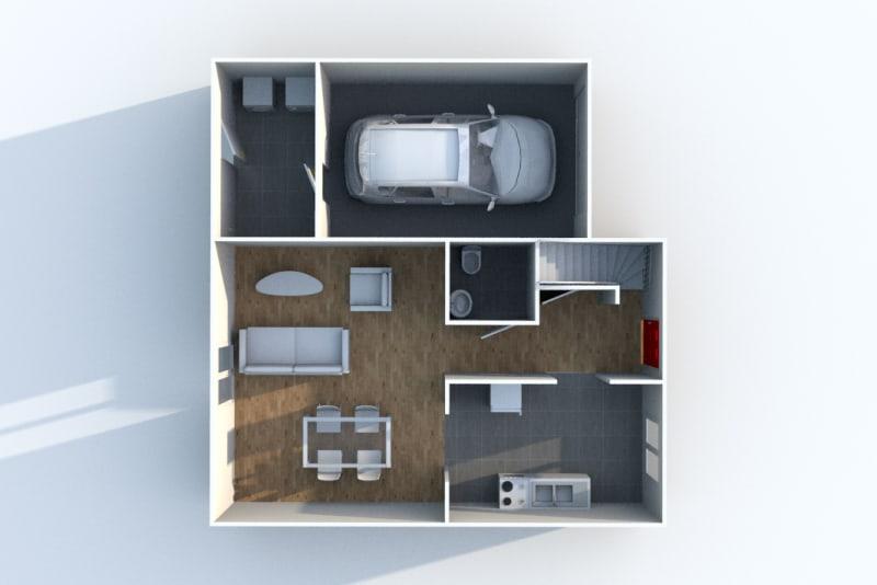 Pavillon T4 en location à Ymare - Image 4
