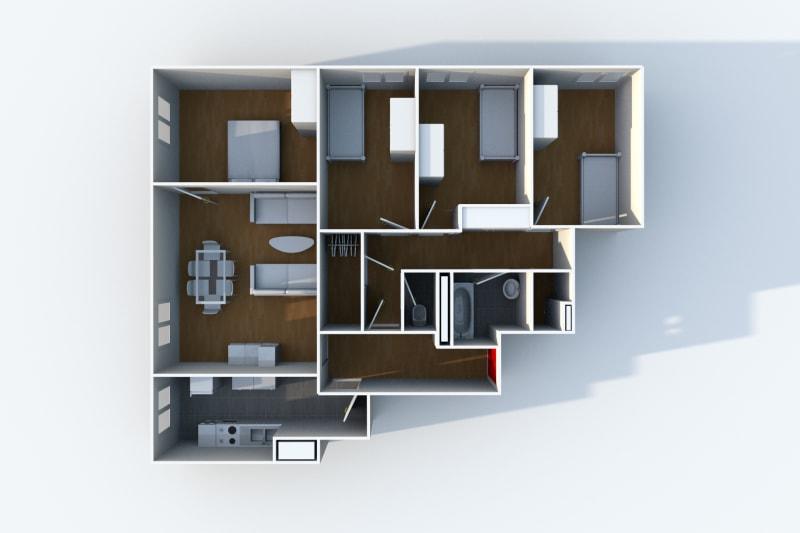 Appartement F5 en location à côté du stade Océane au Havre - Image 5