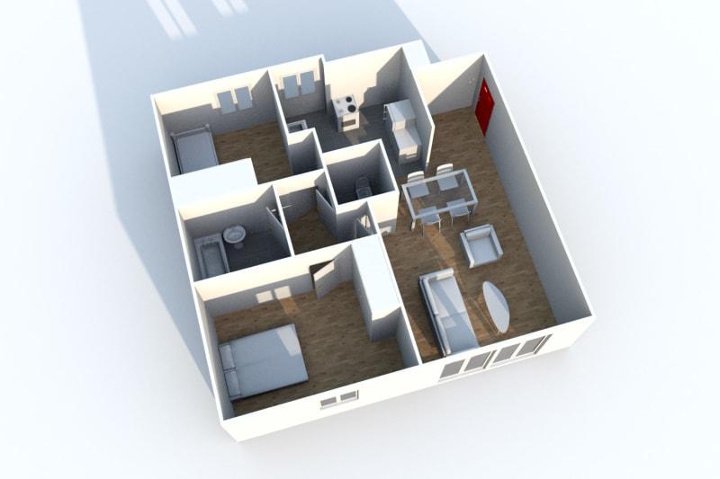 Location appartement F3 à proximité des Docks Vauban au Havre - Image 7