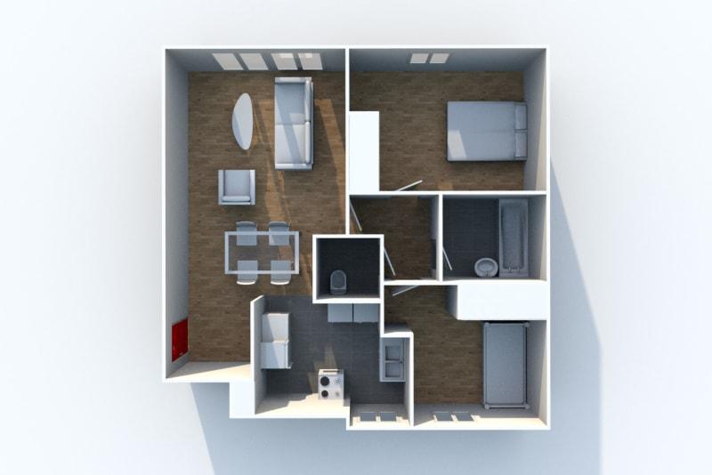 Location appartement F3 à proximité des Docks Vauban au Havre - Image 8