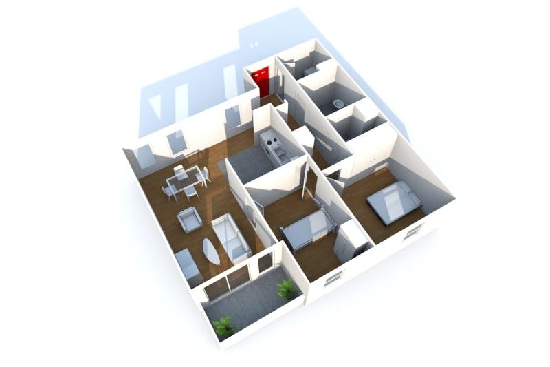 Appartement, 3 pièces dans les hauts de Bleville au Havre - Image 3
