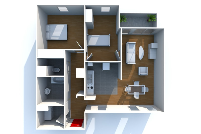 Appartement, 3 pièces dans les hauts de Bleville au Havre - Image 4