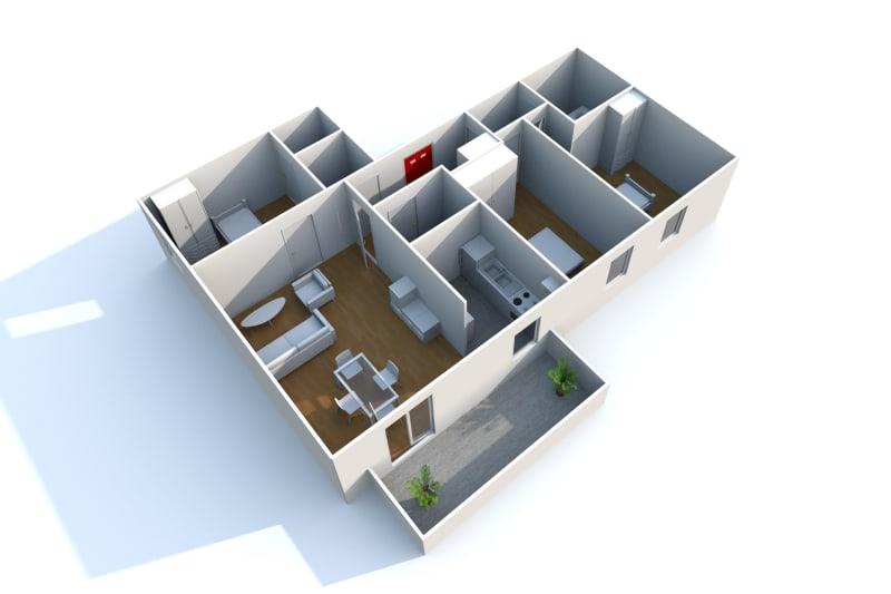 F4 récent de 82 m² Proche Métro Jean-Jaurès au Petit-Quevilly - Image 7
