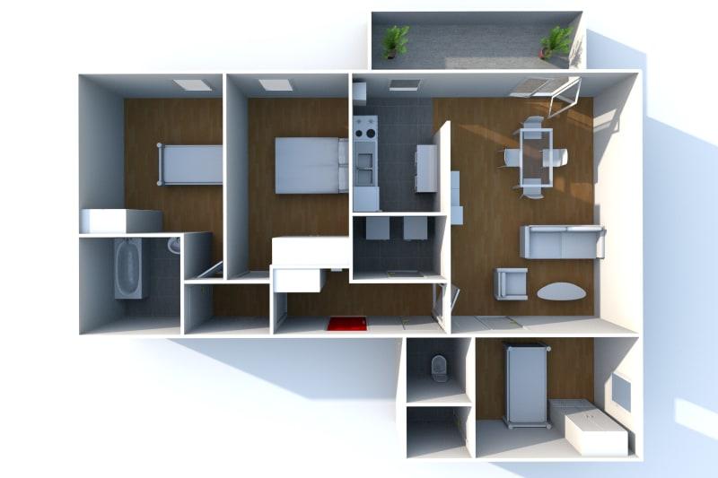 F4 récent de 82 m² Proche Métro Jean-Jaurès au Petit-Quevilly - Image 8