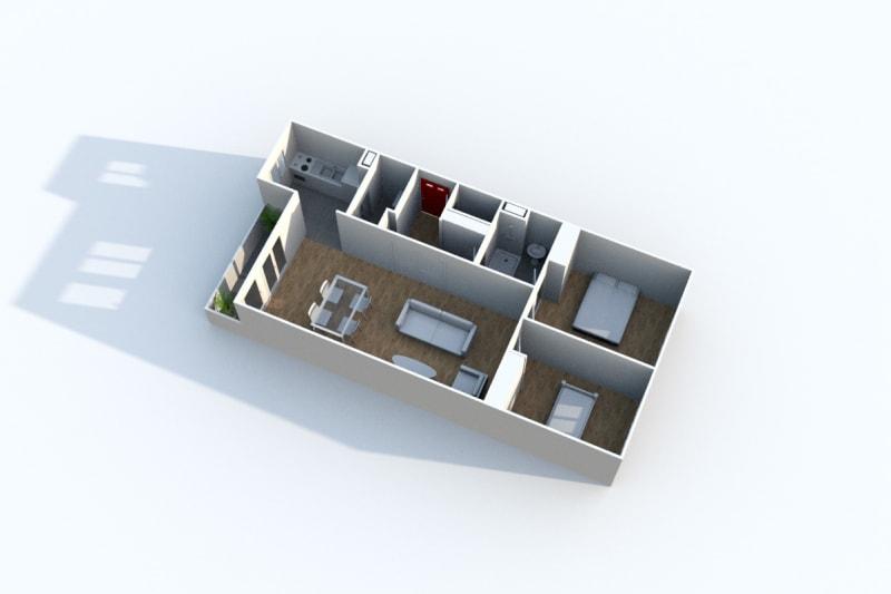 Appartement 3 pièces en location à Rouen Rive Gauche - Image 9