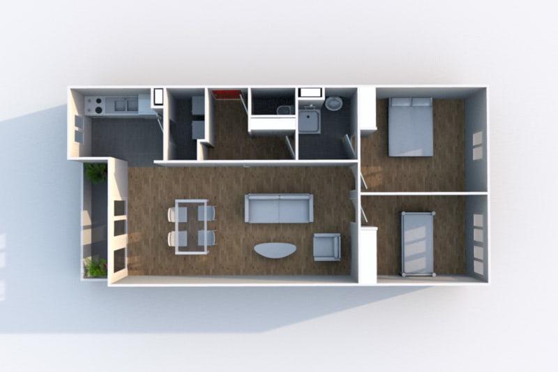 Appartement 3 pièces en location à Rouen Rive Gauche - Image 10