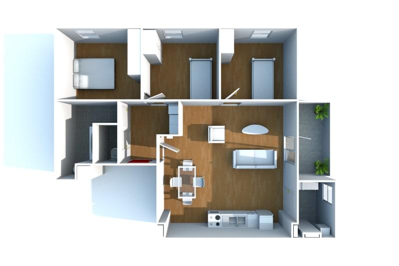 Appartement F4 récent à louer à Cany-Barville - Image 10
