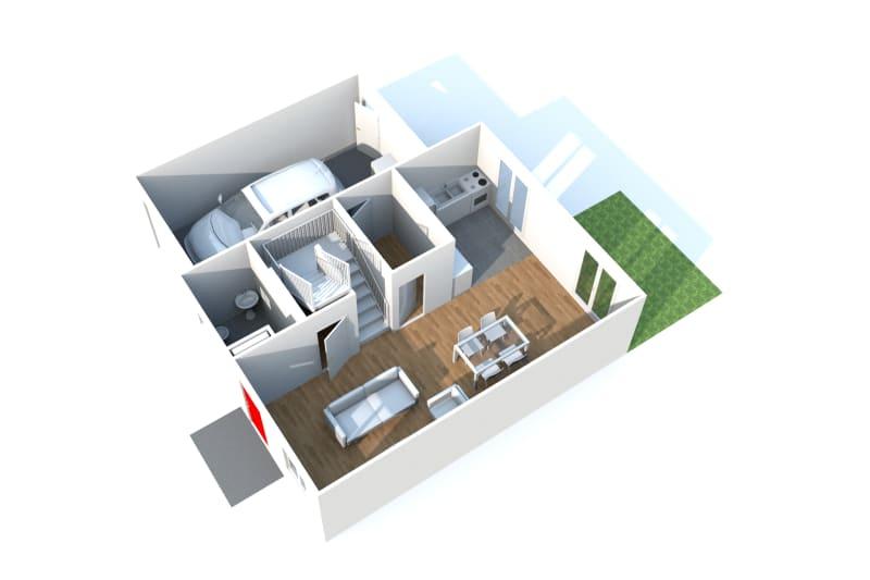 Pavillon T5 à louer à Duclair avec garage - Image 7