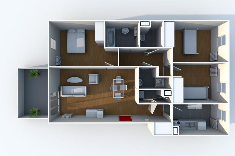 Appartement T4 à louer à Rouen Rive Droite - Image 10