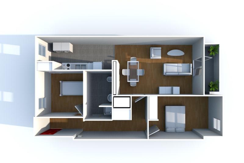 Appartement de 3 pièces à louer à Rouen Rive Droite - Image 8