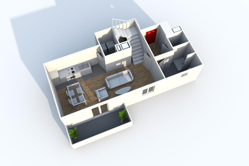 Duplex de 4 pièces à Canteleu au pied des transports en commun - Image 8