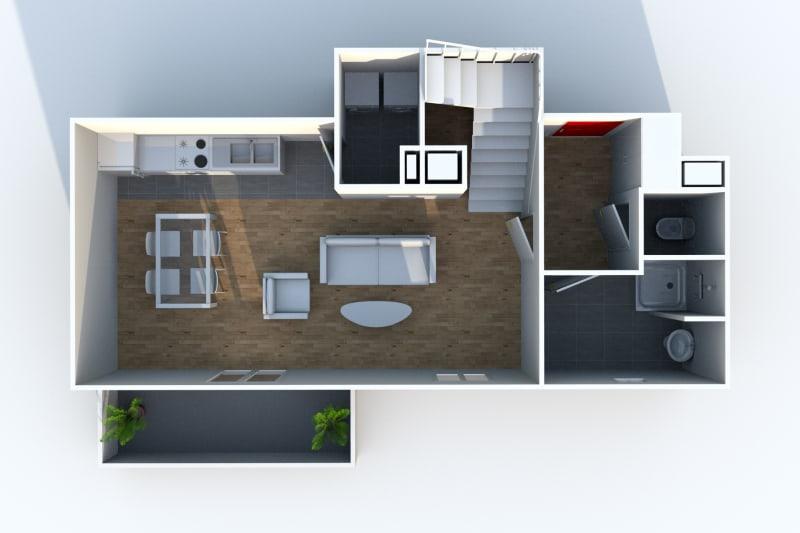 Duplex de 4 pièces à Canteleu au pied des transports en commun - Image 9