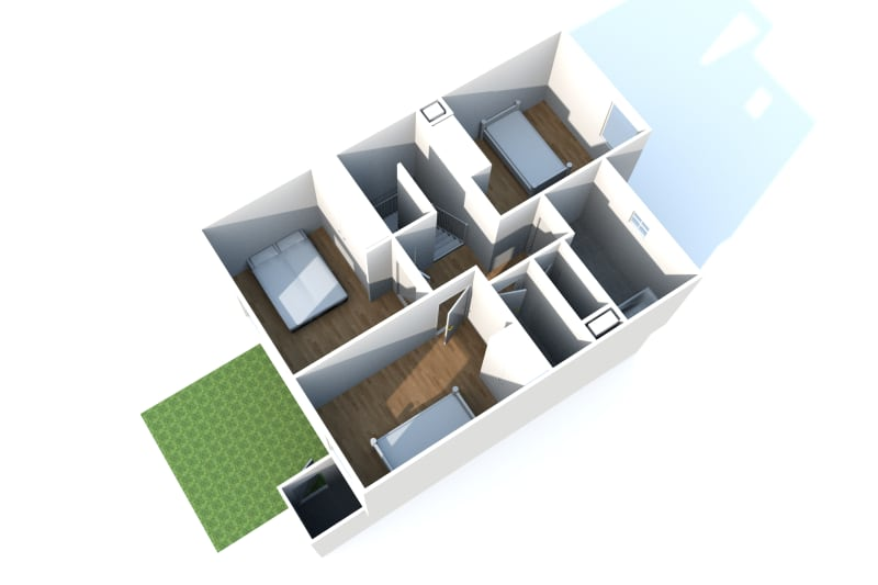 Pavillon en location F4 dans un environnement calme à Canteleu - Image 6
