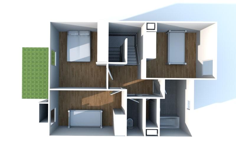 Pavillon en location F4 dans un environnement calme à Canteleu - Image 7