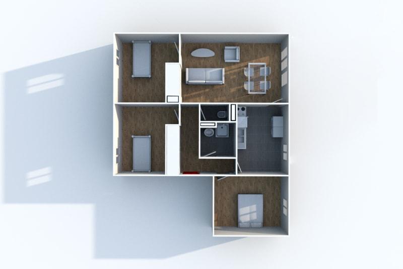 Appartement F4 à louer dans une résidence à Blangy-Sur-Bresle - Image 4