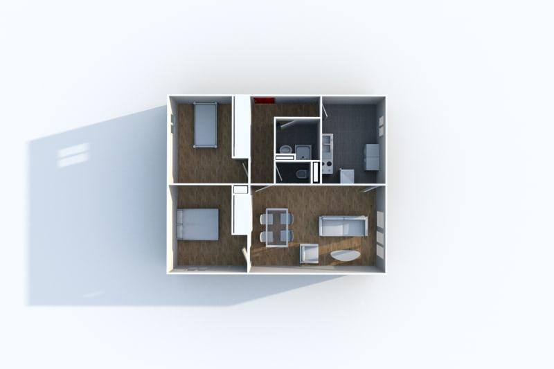 Appartement T3 à louer proche du centre-ville de Blangy-Sur-Bresle - Image 4