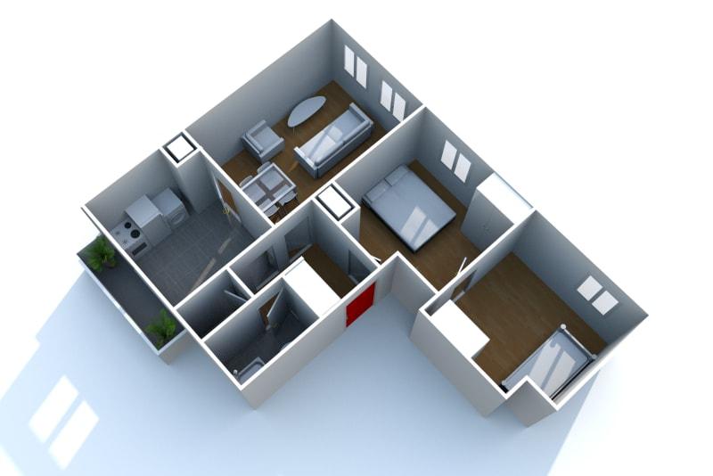 Appartement T3 en location à Bolbec - Image 6