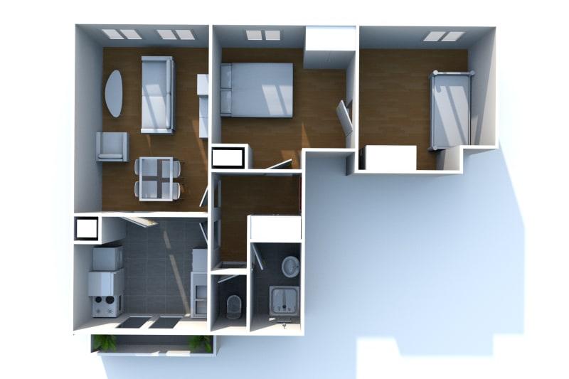 Appartement T3 en location à Bolbec - Image 7