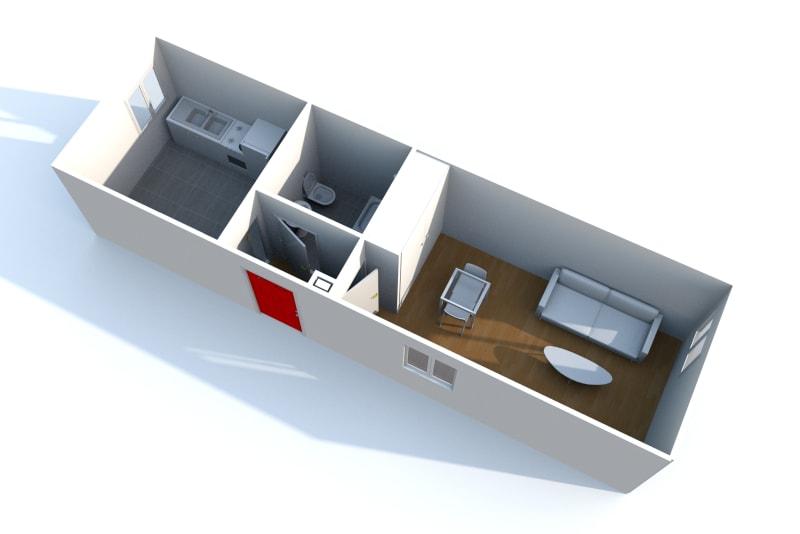 Appartement studio en location dans un quartier résidentiel à Bolbec - Image 5