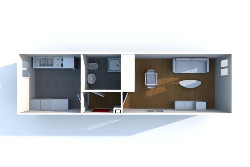 Appartement studio en location dans un quartier résidentiel à Bolbec - Image 6