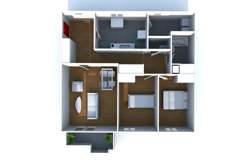 Appartement F3 en location dans un quartier calme à Bolbec - Image 8