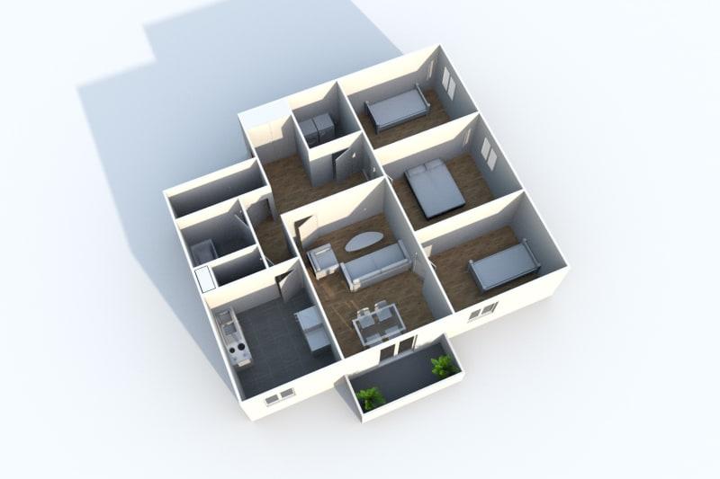 Bosc-le-Hard, appartement 4 pièces dans un village calme - Image 6