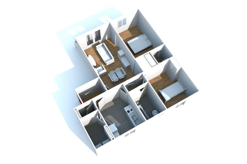 Appartement T3 en location avec vue sur Rouen - Image 3