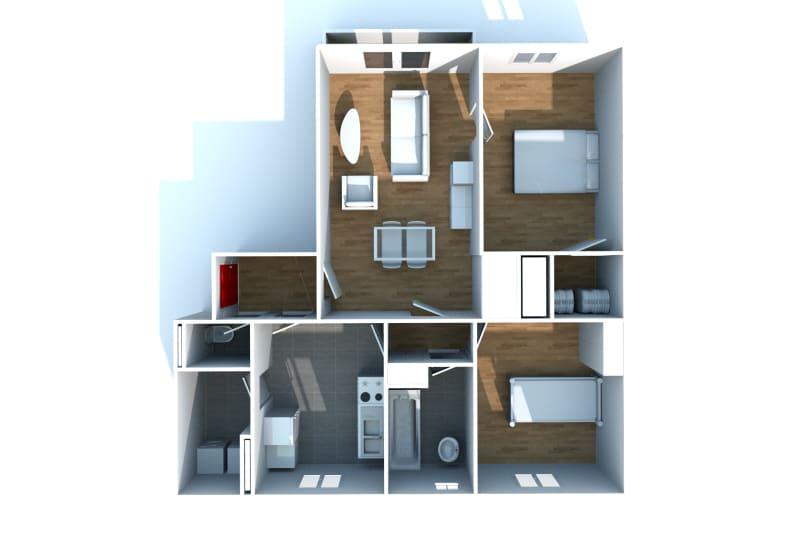 Appartement T3 en location avec vue sur Rouen - Image 4