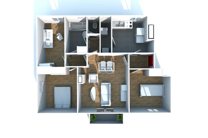 Appartement T4 à louer à Canteleu - Image 4