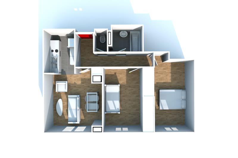 Location appartement F3 à Canteleu proche de l'école élémentaire - Image 6