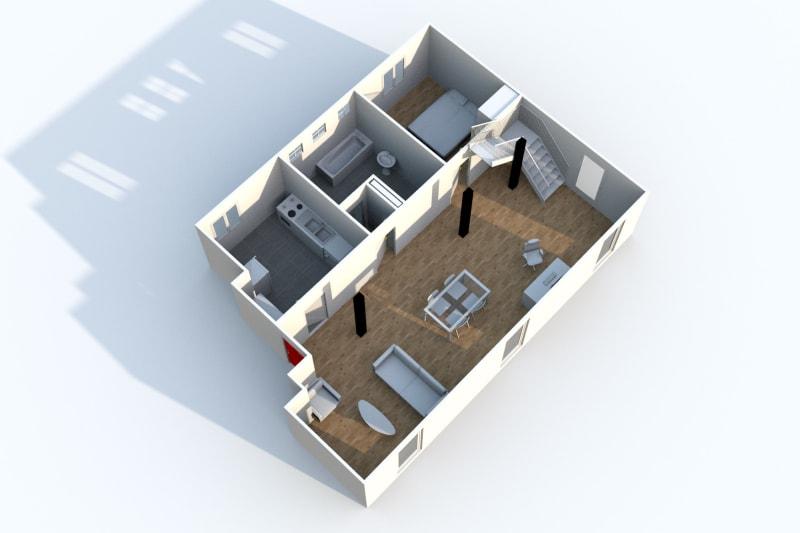 Grand Duplex F3 en location à Canteleu - Image 5