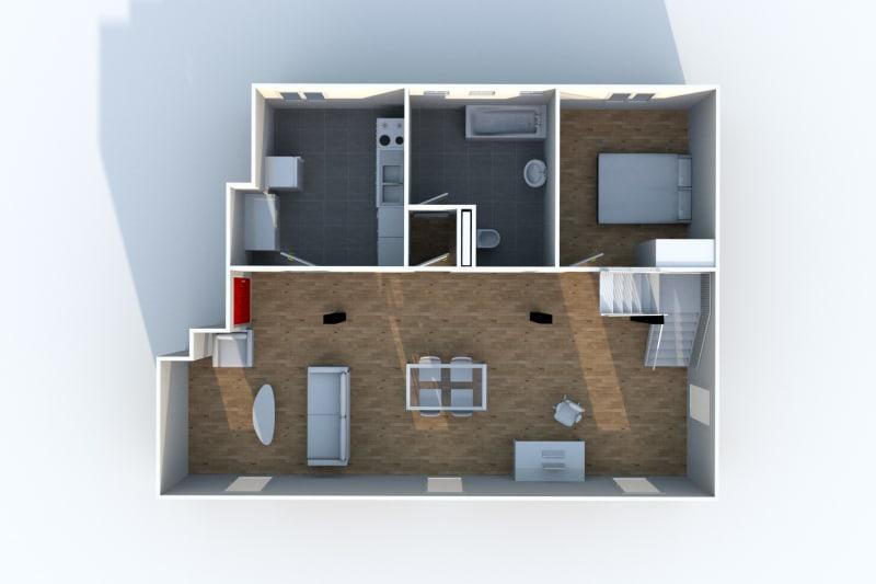 Grand Duplex F3 en location à Canteleu - Image 6