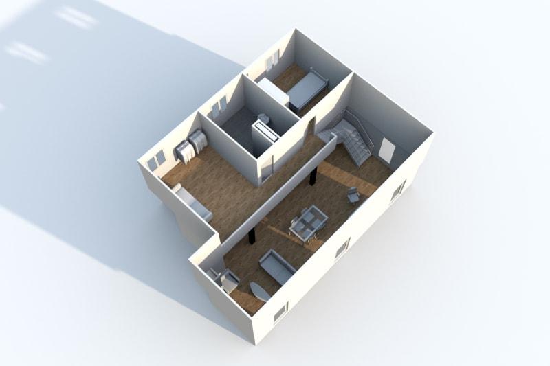 Grand Duplex F3 en location à Canteleu - Image 7