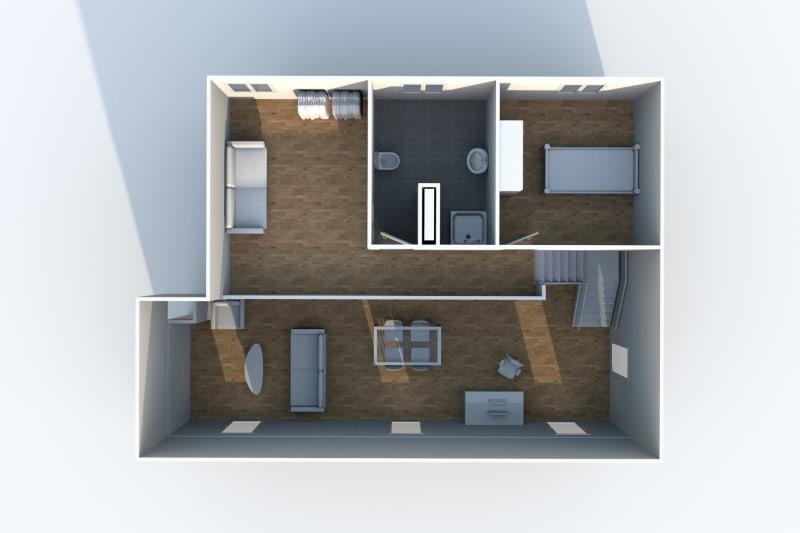 Grand Duplex F3 en location à Canteleu - Image 8