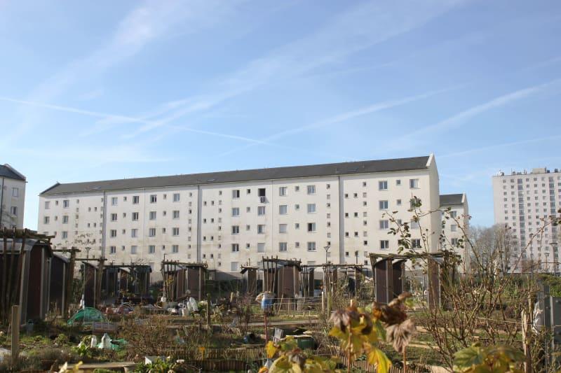 T4 avec vue sur les jardins potagers à Canteleu - Image 3