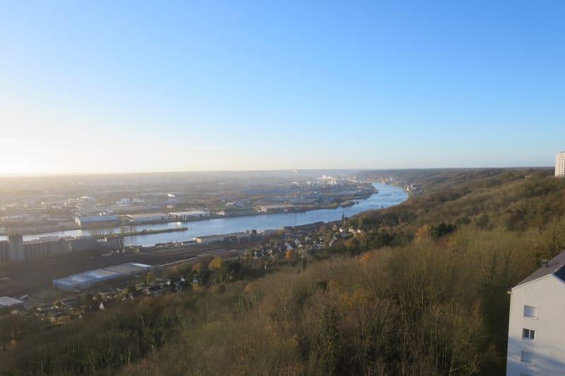 T3 à Canteleu avec vue sur le panorama de Rouen - Image 2