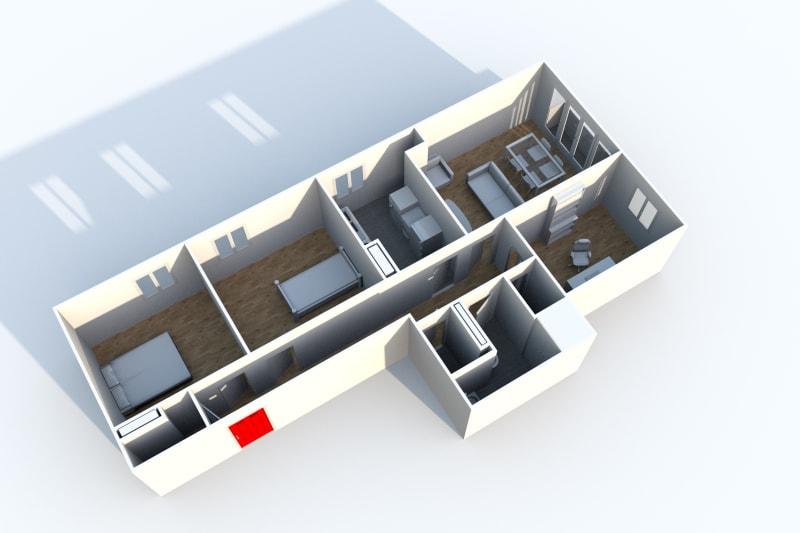 Appartement T4 en location à Canteleu proche parc - Image 7