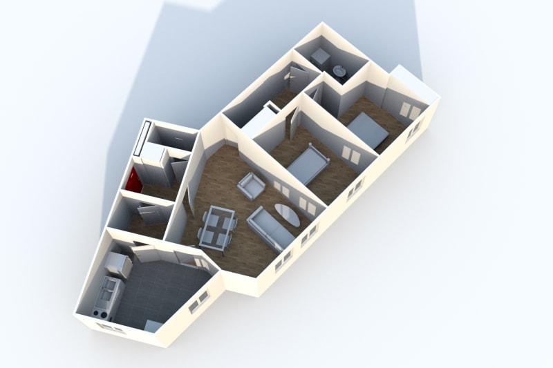 Appartement F3 en location à Canteleu - Image 5