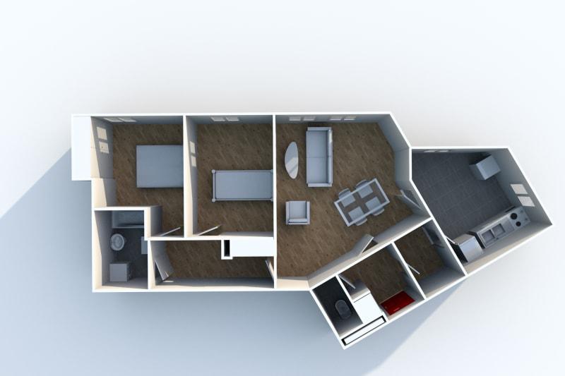 Appartement F3 en location à Canteleu - Image 6