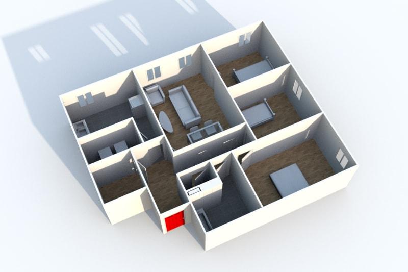 Appartement T4 proche du collège à Cany-Barville - Image 4