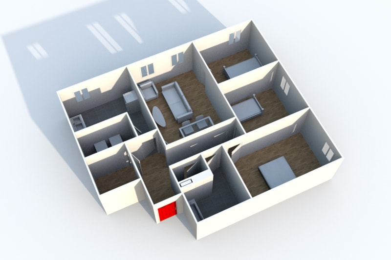 Appartement T4 à louer à Cany-Barville - Image 4