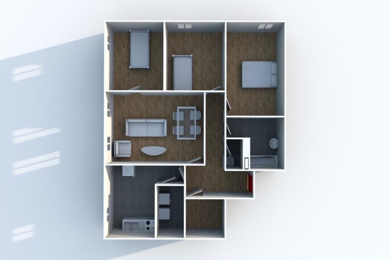 Appartement T4 à louer à Cany-Barville - Image 5